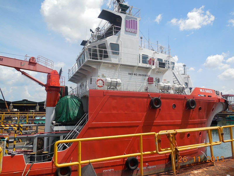 HARPS Marine News HARPS Marine Purchases Two Sets of 4400BHP AHTS 28 Oct 2013